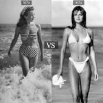 VINTAGE COLUMN: MUM CAN I BORROW THIS? By @SilviaAlbanese / 50s PIN-UP BIKINI VS 80s HIGH LEG BIKINI